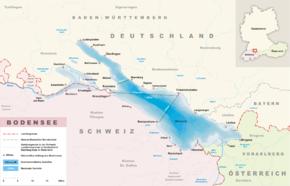 Bodensee-Karte